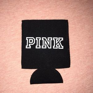 ✨Pink VS black drink koozie